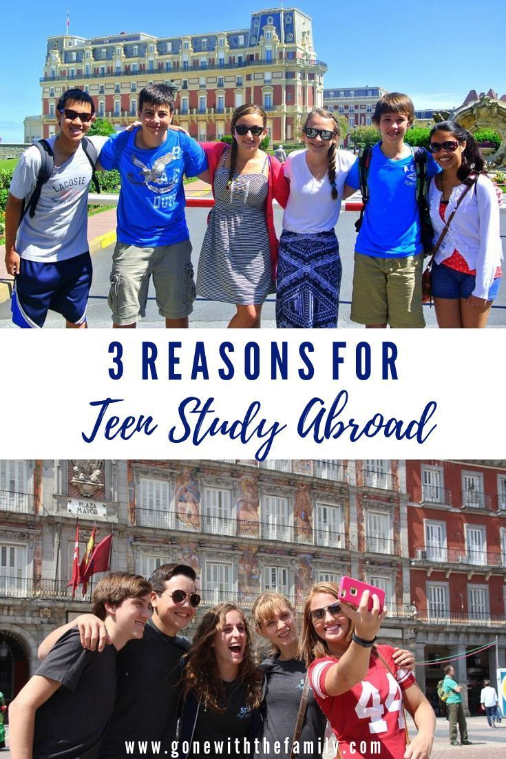 Teen study abroad experience
