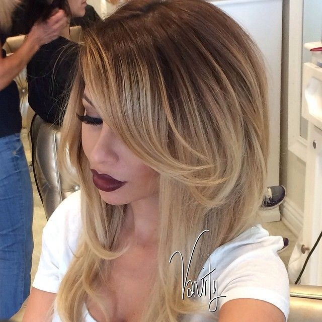 I want my hair to look like this :) now this is a nice shade of blonde !!