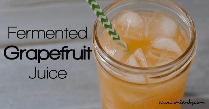 how to make fermented juice