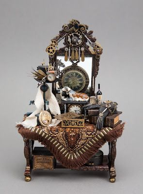 622 best images about it 39 s a mini steampunked world on for Steampunk kitchen accessories