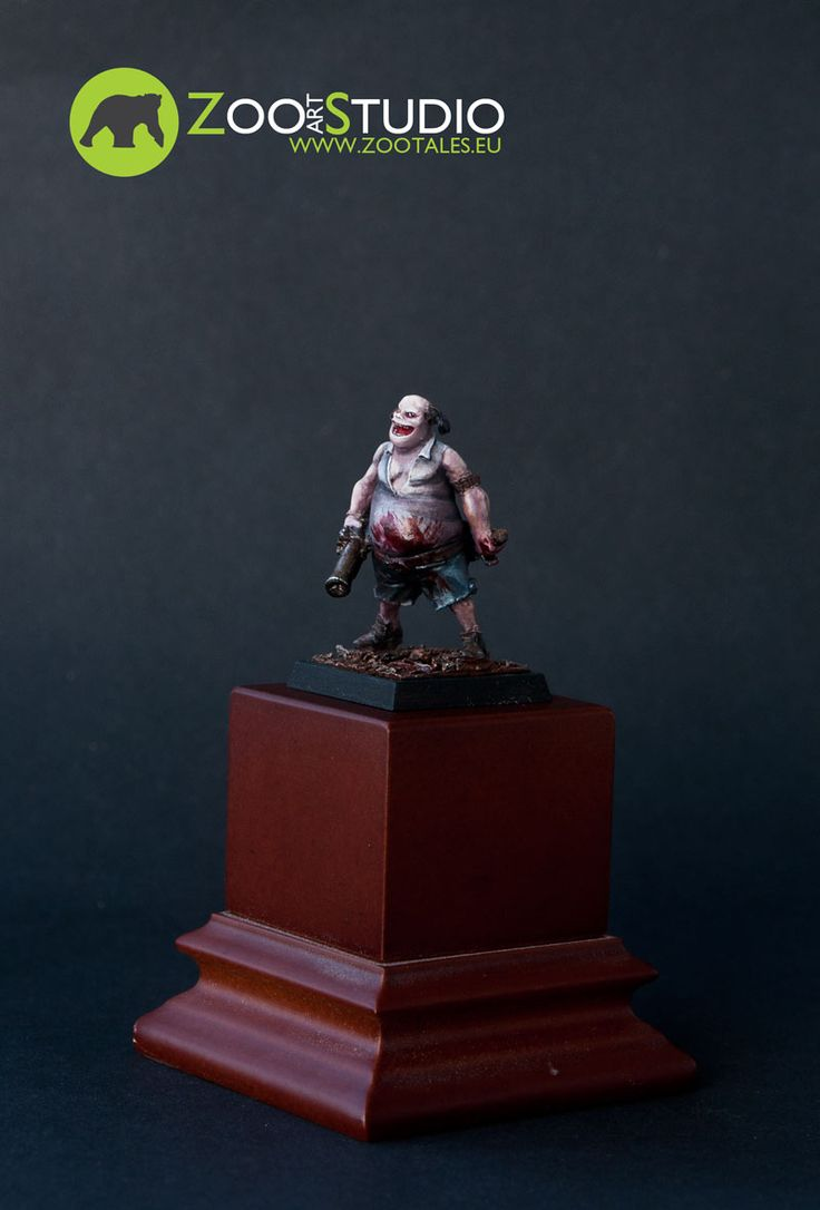 Krud, FreeBooter Miniatures  Painted by Doe from Zoo Art Studio