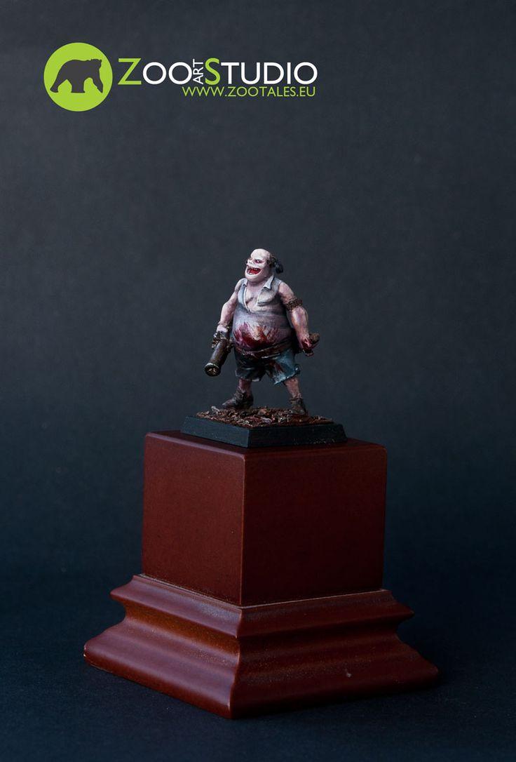 Krud, FreeBooter Miniatures  Painted by Doe from Zoo Art Studio