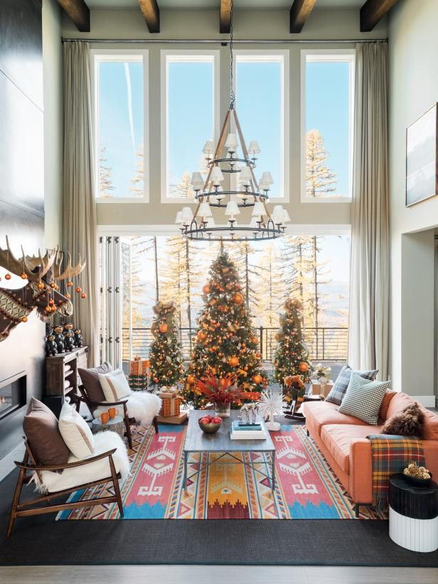 Modern Mountain Holidays at HGTV Dream Home 2019 Home