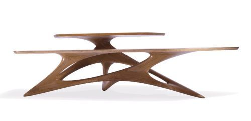 TRIE Masuta de Zaha Hadid Design pentru Sawaya & Moroni