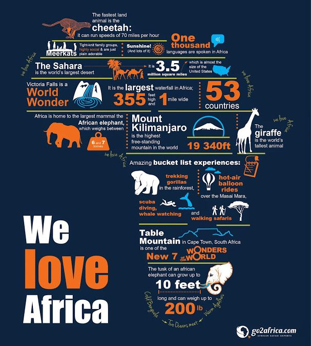 374 Best Images About African Infographics On Pinterest