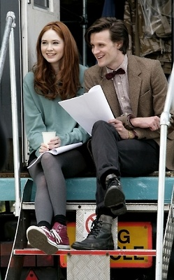 Karen GIllian and Matt Smith from Dr. Who. Gosh, I love these two.