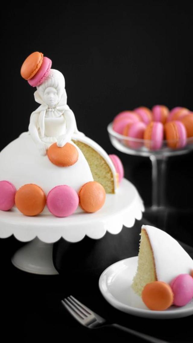 Sprinkle bakes macaron wedding cake