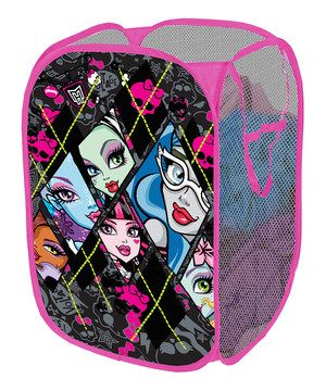 The Monster High Pop Up Hamper Makes A Perfect Addition To Your Childu0027s  Bedroom, Closet, Or Playroom. The Pop Up Hamper Is An Easy Way To Maintain  ...
