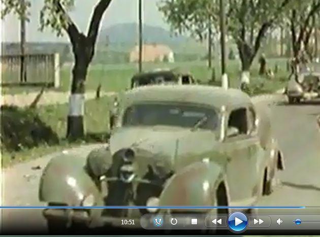 MB K.H.Frank on the run. Pilsen road near Rokycany. 05/09/1945 Czech Republic