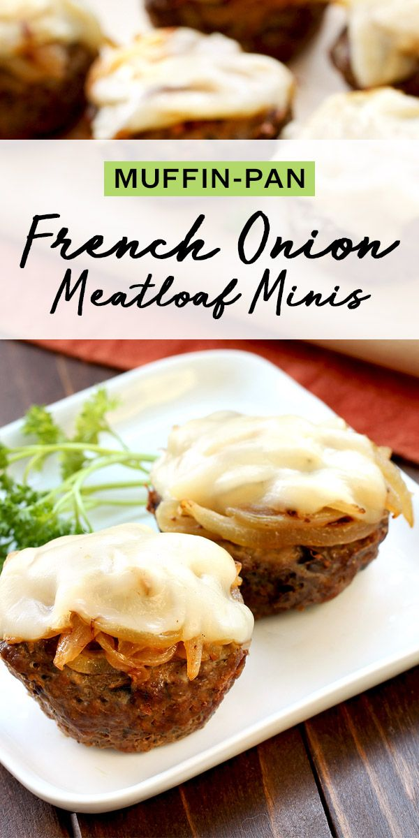 These mini meatloaves are made in a muffin pan for portion control! You can make 'em ahead for those busy weeknights. 2 mini meatloaves: 190 calories | 6.5g fat | 21.5g protein