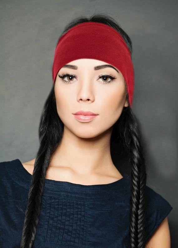 Women's Running Headwrap Fitness Headband by FeathersandFancy