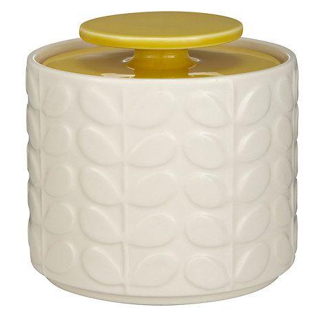 Buy Orla Kiely Raised Stem Ceramic Kitchen Storage Jar, 1L Online at johnlewis.com
