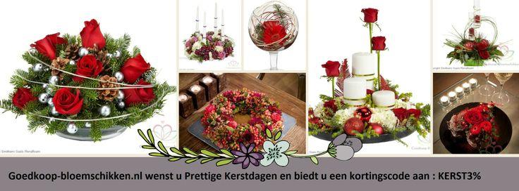 Kerstgroet goedkoop-bloemschikken.nl