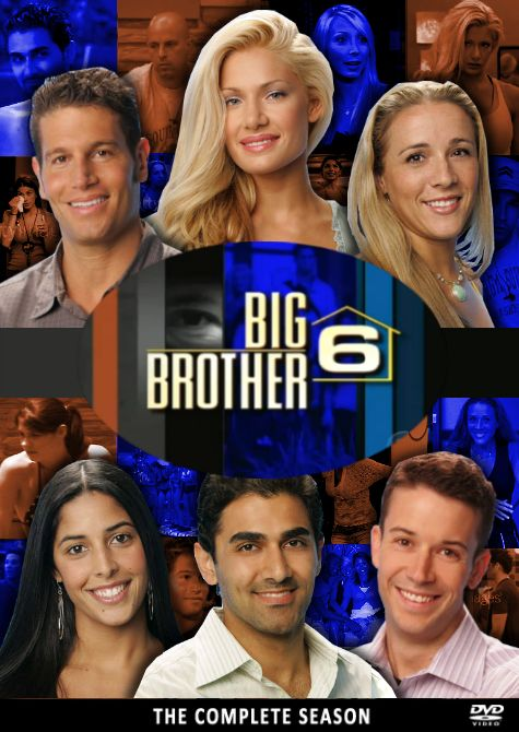 Big Brother usa | Big Brother 6 USA DVD Cover by ~karl100589 on deviantART