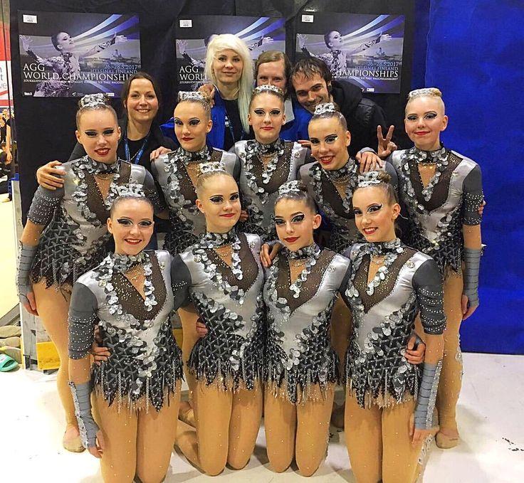 PNVfi (@PNVfinland) | Twitter > PNVfi @PNVfinland  28. toukokuuta  Lisää   Today is the Day. Our Gloria Junior made it way to the 18th aesthetic group #gymnastics World Championships finals #helsinki #gloriajunior