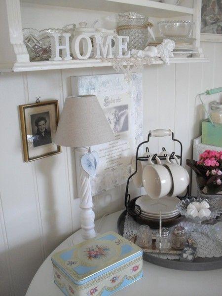 Интерьер в стиле шебби шик в отдельно взятой квартире. Кухня-столовая 17