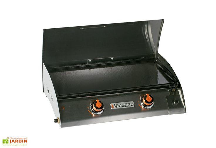 Plancha Gaz en Inox et Fonte 2 Brûleurs 6,8 kW Adalia