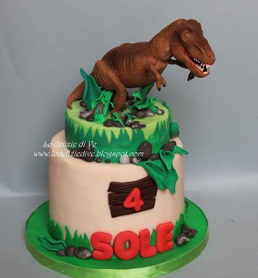 Le Delizie di Ve: T-REX CAKE