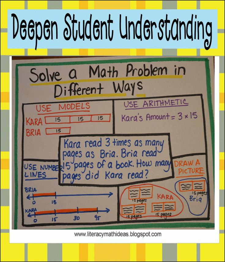 64 best Math Problem Solving images on Pinterest | School, Teaching ...