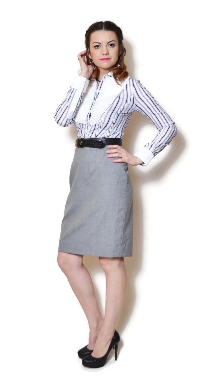 High waisted skirt outfit, pencil skirt outfits, wool skirt outfits, all of womens fashion in here.  US$34.95