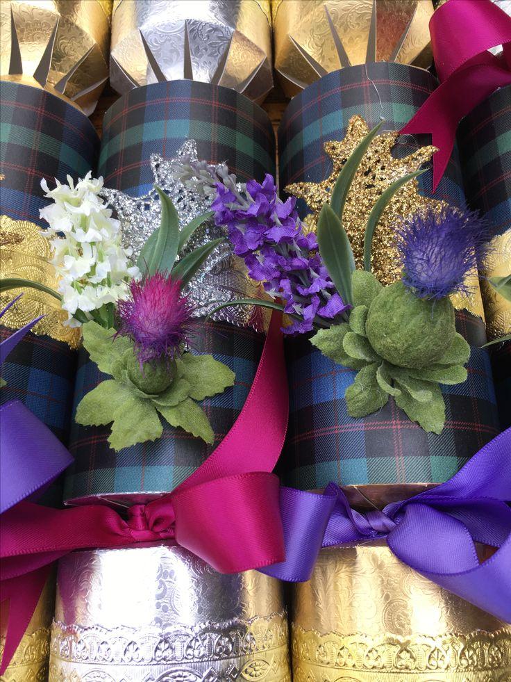 Beautiful  Scottish Thistle Crackers