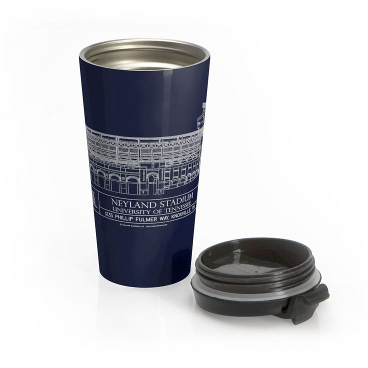 Neyland Stadium Stainless Steel Travel Mug