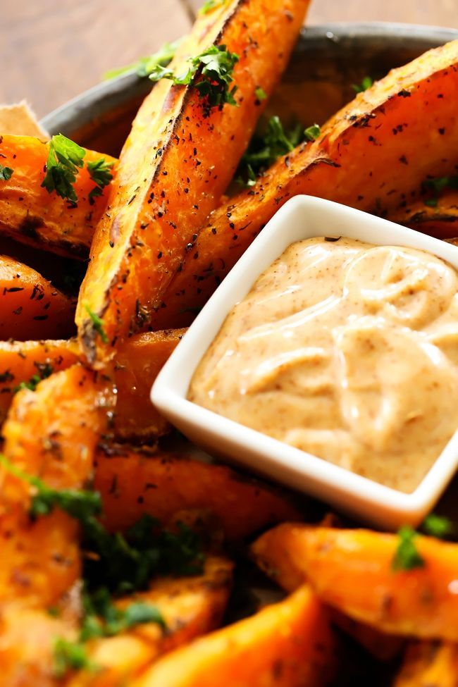 These Sweet Potato Wedges are SO yummy and the Honey Chipotle Dipping Sauce is the PERFECT compliment! They are savory and absolutely incredible! It is Sweet Potato season and I love it! I usually am found making my BEST EVER SWEET POTATO CASSEROLE, which is absolutely delicious! But every now and then its fun to …