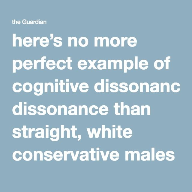 here's no more perfect example of cognitive dissonance than straight, white conservative males using the platform of their privilege to protest the oppression of straight, white conservatives in Australia.