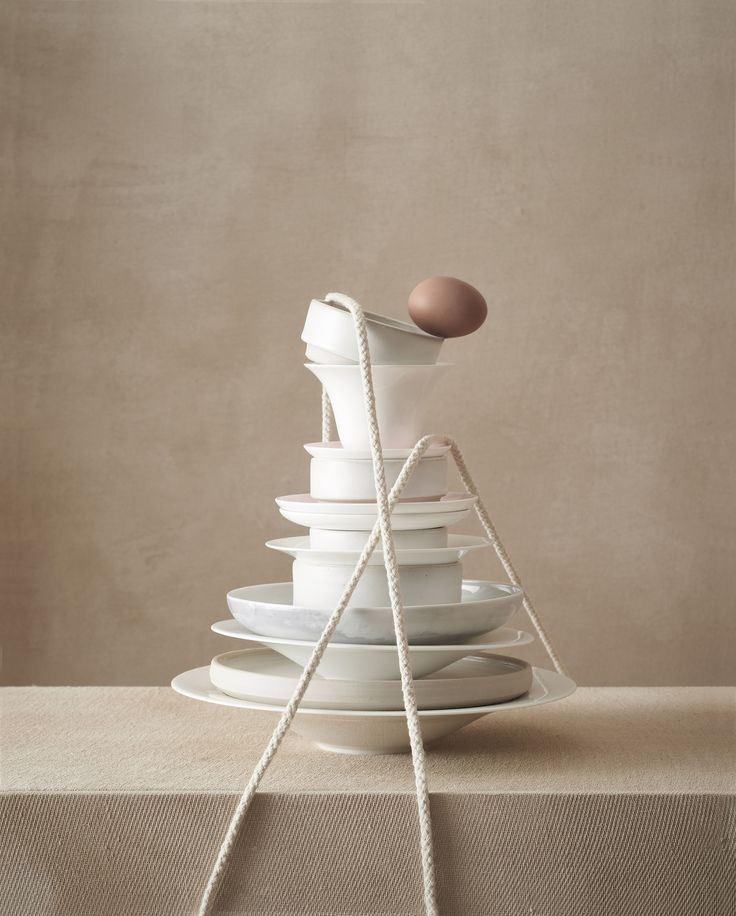 <p>For this beautiful still life editorial, Art director Lisa Jahovic and Helen Sirp with the help of photographer Thomas Baker played on a tonal game of painterly surfaces playfully challenging classical still-life compositions, tying them together and breaking apart. Each scene portraying a conceptual narrative, leaving it up to the viewer to piece the puzzle…</p>