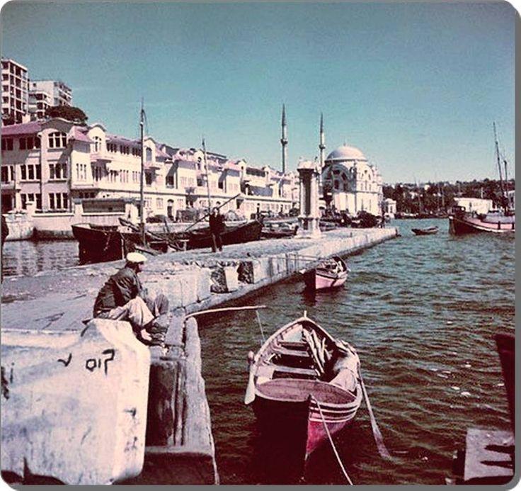 Kabataş Sahili – 1960
