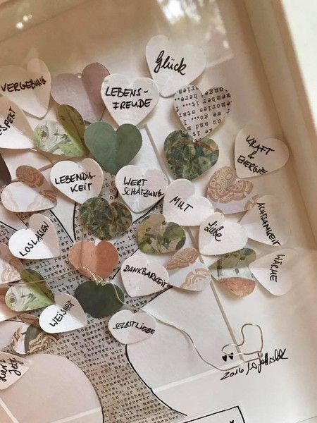 Plaatjes – Tree of Life with Personal Wishes – een uniek product van wiwi111 …  – Hochzeit