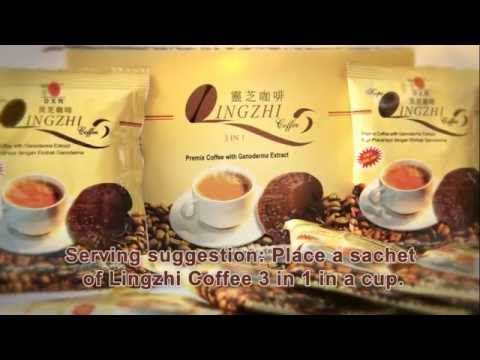 DXN Lingzhi Coffee 3 in 1 (English product video)