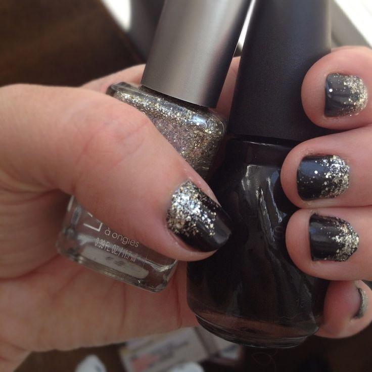 Black Nail Varnish Verruca: Loreal Black Glitter Nail Polish - Google Search