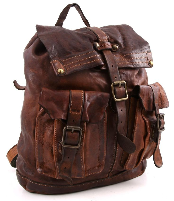 Campomaggi Lavata Backpack Leather cognac