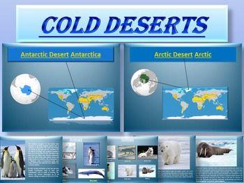 Arctic and Antarctic - Animals - Plants - Interactive ...