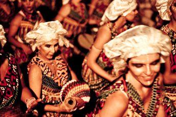 """O candomblé é celebrado na programação do """"Africanidades Brasil"""", série de atividades culturais que integra a Virada Cultural, que acontece nos dias 5 e 6 de maio, no Sesc Pompeia."""