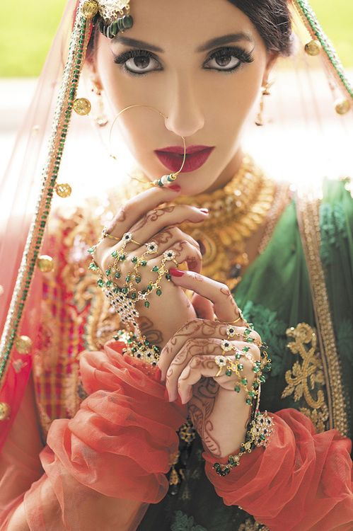 """ jaaaaai hoooo "" ..okay boll wood is a very large aspect of India too , its their version of Hollywood ,yes its that individual a country .....the Bollywood studios is all about the colour, the passion , shown off in stunning dresses like this one here"