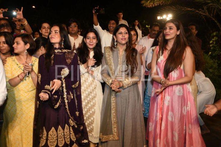 Ganesh Utsav at Salman's residence was celebrated with much fervour. The Ganpati…