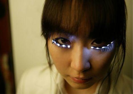 LED Eye Lashes Soomi Park
