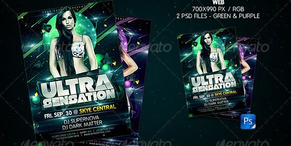 cool 18 Cool Sci-Fi Flyer Templates