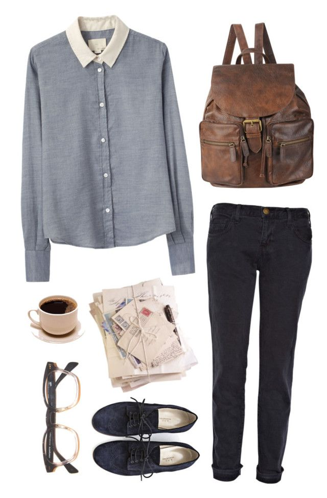 """""""Yet Again - Grizzly Bear"""" by rebeccarobert ❤ liked on Polyvore featuring Current/Elliott, Band of Outsiders, Forever 21 and A.P.C."""