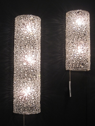 Crystal Wall Sconces Bathroom : Crystal sconce lamps from Four Hands Master Bath remodel Pinterest Hands, Sconces and Crystals