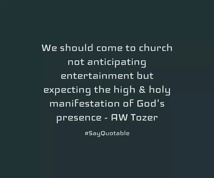 christian quotes aw tozer quotes church priorities