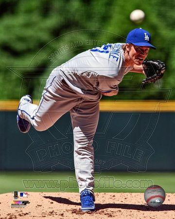 Los Angeles Dodgers - Zack Greinke Photo