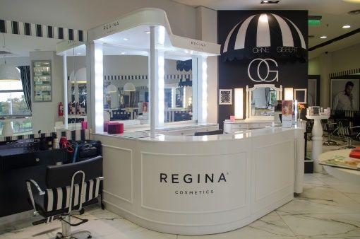 Diseño de punto de venta – Regina Cosmetics – Meta