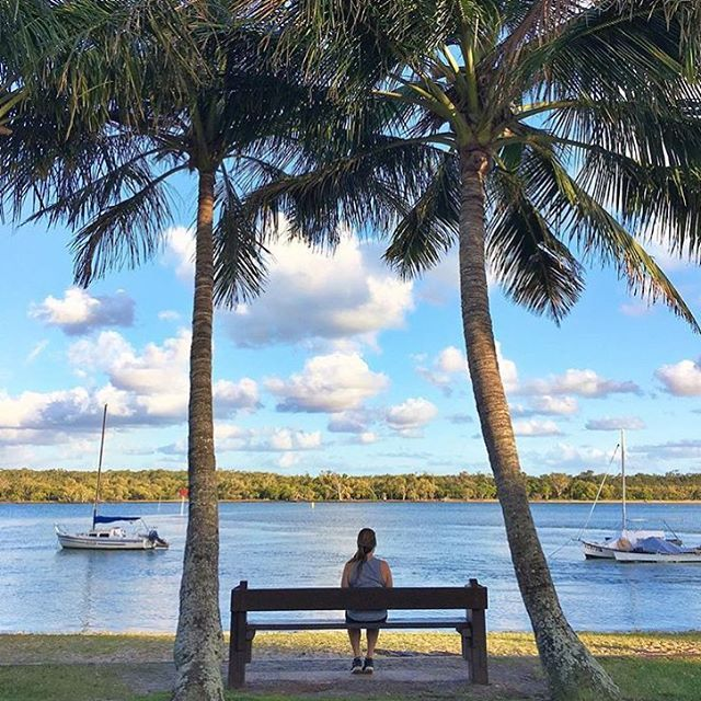 Not a bad spot to sit and watch the day go by, don't you think?! The banks of the Noosa River are lined with picnic tables, benches and public BBQs, making it an ideal spot to relax with a good book and riverfront picnic.