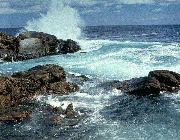 The Rocky Coast at Blue Rocks near Lunenburg, Nova Scotia