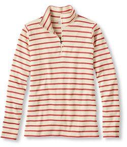#LLBean: French Sailor's Shirt, Quarter-Zip Pullover