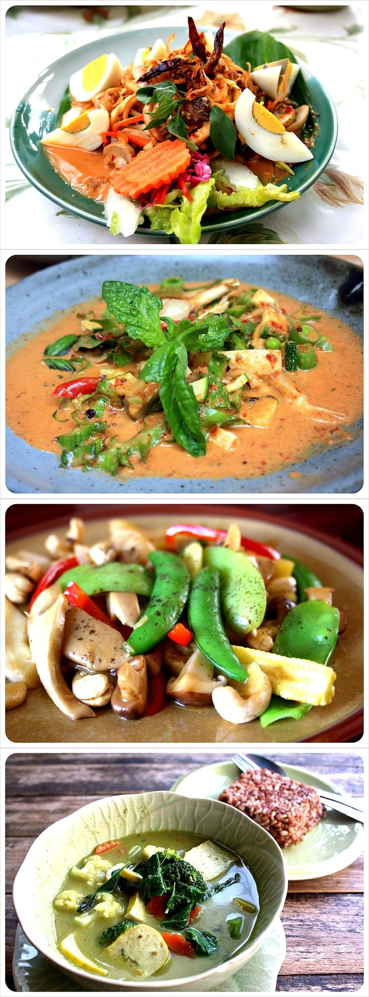 Favorite foods from Thailand