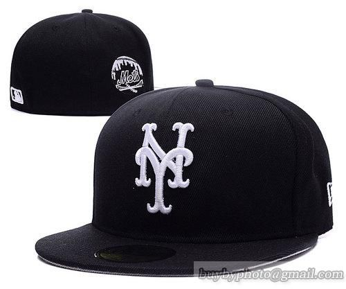 New York Mets Fitted Hats 59fifty Hats Black #snapbacks #snapbackhats #hats #popular